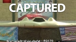 US drone captured by iranians