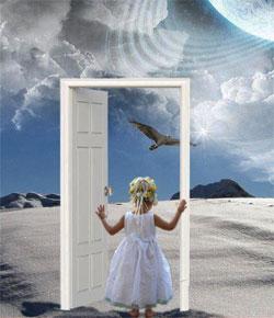 the door to somewhere else